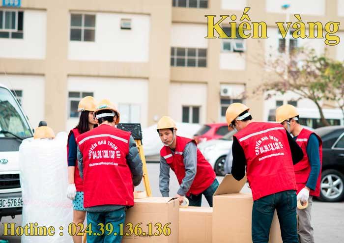 quá trình chuyển nhà tại quận Hoàn Kiếm