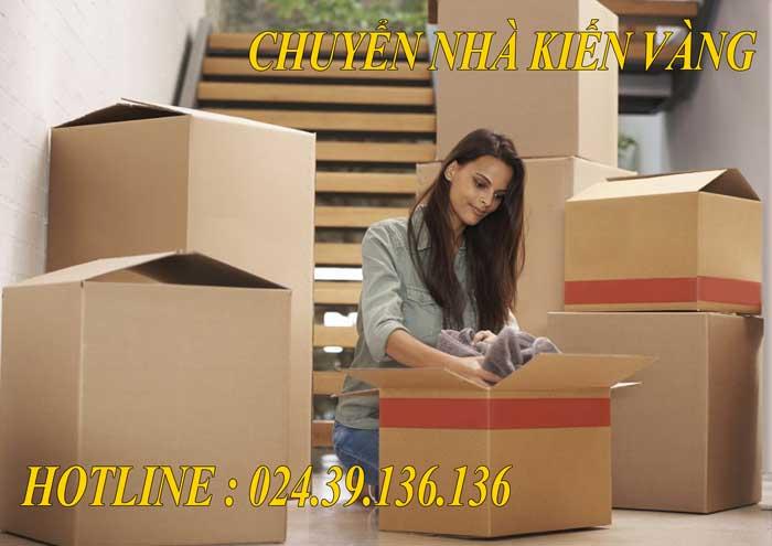 Dịch vụ chuyển nhà trọn gói tại Hai Bà Trưng
