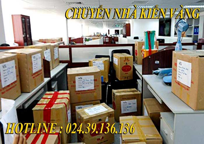 Dịch vụ chuyển văn phòng tại Long Biên Kiến Vàng