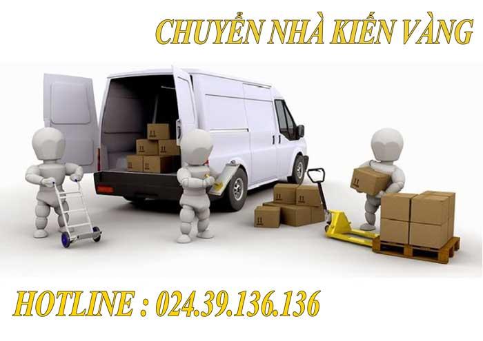 Dịch vụ chuyển văn phòng tại Sóc Sơn Kiến Vàng
