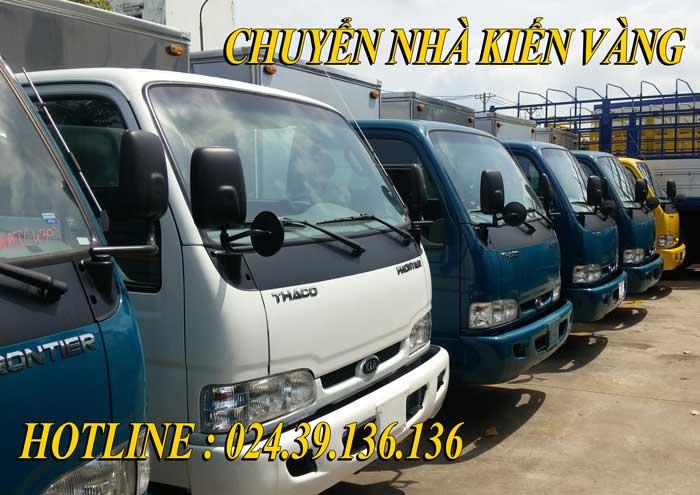 Dịch vụ cho thuê xe taxi tải Hai Bà Trưng giá rẻ Kiến Vàng