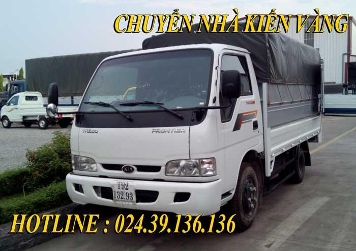 Dịch vụ cho thuê xe taxi tải Thanh Oai Kiến Vàng