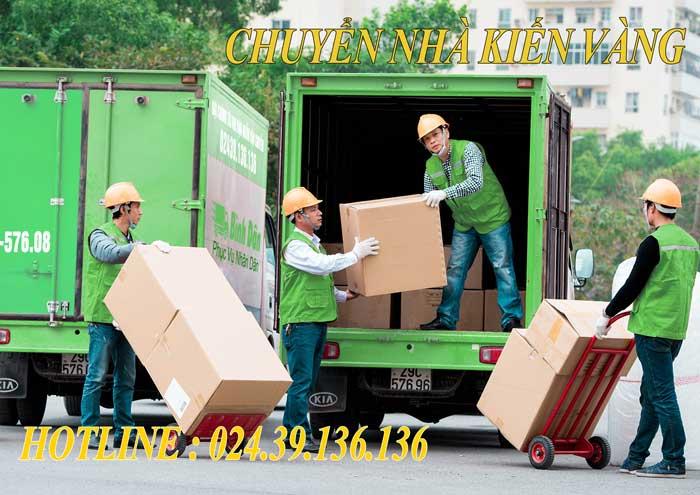 dịch vụ chuyển nhà trọn gói tại Cầu Giấy