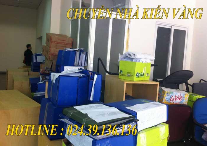 Dịch vụ chuyển văn phòng tại Từ Liêm Kiến Vàng
