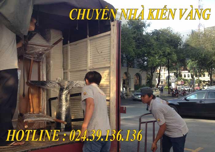Dịch vụ chuyển văn phòng tại Hưng Yên Kiến Vàng