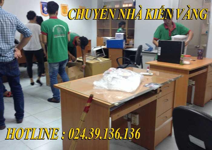Dịch vụ chuyển văn phòng tại Lĩnh Nam Kiến Vàng
