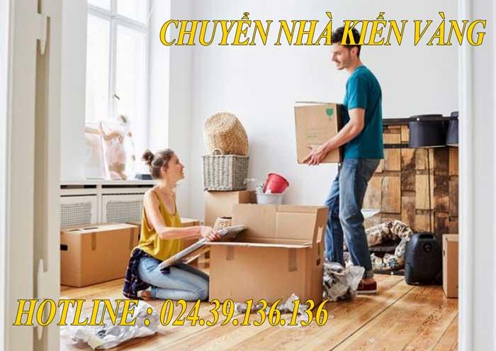 Dịch vụ chuyển văn phòng tại Đông Anh Kiến Vàng