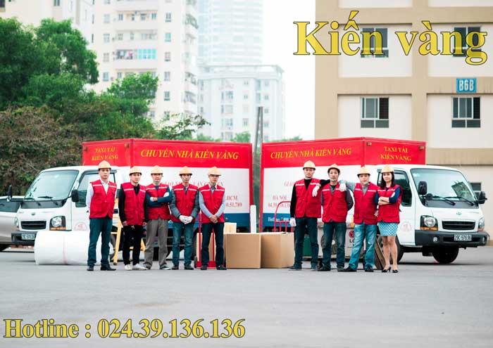 Dịch vụ chuyển văn phòng tại Hoàn Kiếm Kiến Vàng