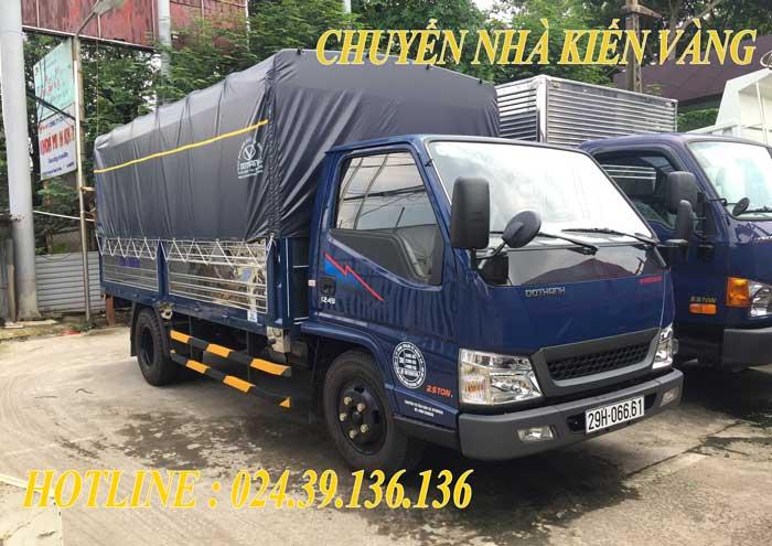 Dịch vụ cho thuê xe taxi tải Thạch Thất giá rẻ