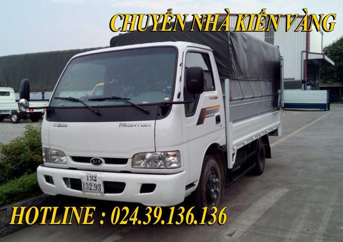 Cho thuê xe taxi tải Bắc Ninh - Kiến Vàng