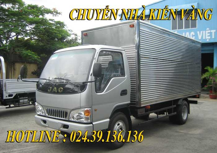 Cho thuê xe taxi tải Bắc Ninh giá rẻ