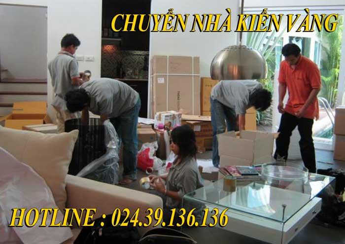 Dịch vụ chuyển nhà tại Bắc Ninh - Kiến Vàng