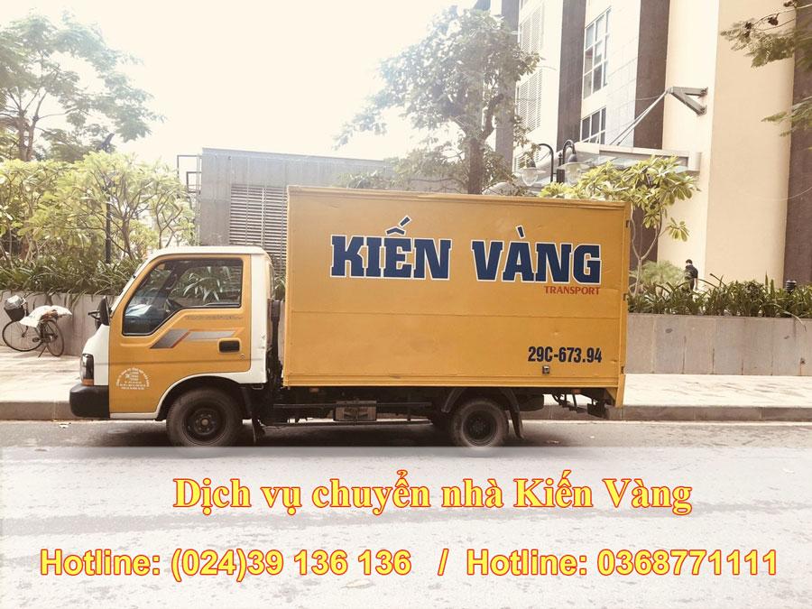 Taxi tải chuyển nhà tại Hà Nội uy tín